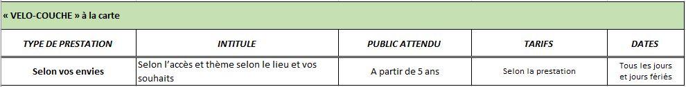 Planning2016-VeloCouche-ALaCarte
